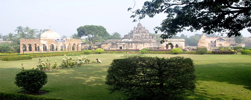 Awesome Rajbari Temple Complex At Kalna , Bengal
