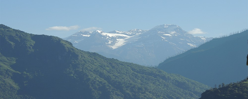 Snow Covered Peaks - Tawang