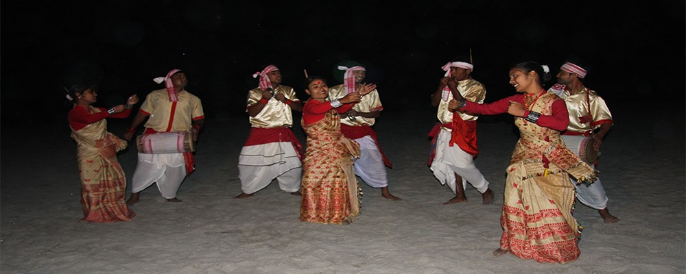 Colourful Bihu - The Folk Dance Of Assam